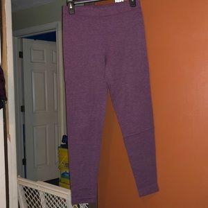 PONK VICTORIA SECRET maroon leggings